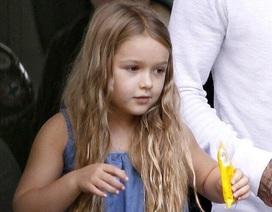 """""""Công chúa"""" nhà Beckham càng lớn càng đáng yêu!"""