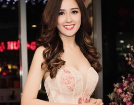 Hoa hậu Mai Phương Thuý diện váy trễ nải