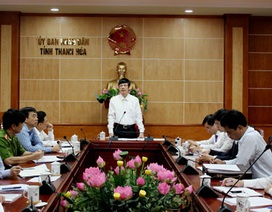 """Chủ tịch tỉnh Thanh Hóa """"cấm"""" mang quà chúc Tết lãnh đạo"""