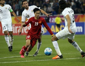 U23 Việt Nam 1-3 U23 Jordan (kết thúc)