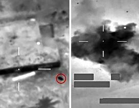 Máy bay chiến đấu Anh phóng tên lửa xuyên cửa sổ tiêu diệt IS