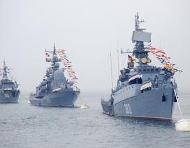 Hạm đội Thái Bình Dương của Nga tập trận chống ngầm