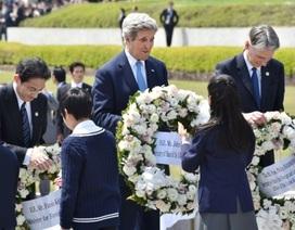Ngoại trưởng Mỹ đầu tiên thăm thành phố bị dội bom nguyên tử
