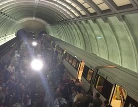 Cháy, nổ tại 2 ga tàu điện ngầm ở thủ đô Washington, nhiều người sơ tán