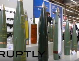 Xe tăng, trực thăng Nga tại triển lãm vũ khí ở Pháp