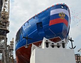 Nga hạ thủy tàu phá băng hạt nhân lớn thế giới