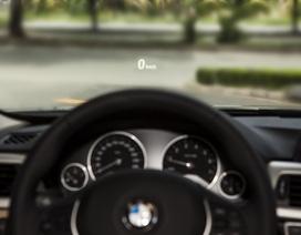 3 Series dùng công nghệ hiển thị thông tin trên kính chắn gió