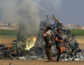 Trực thăng Nga bị bắn rơi ở Syria, toàn bộ 5 người thiệt mạng