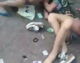 Trung Quốc: Clip đánh ghen giữa phố gây sốc