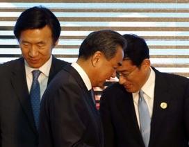 Ngoại trưởng Trung-Nhật-Hàn lần đầu gặp 3 bên tại Tokyo sau hơn 5 năm