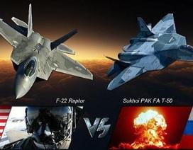 Tiêm kích T-50: Sức mạnh đè bẹp F-35, đại địch của F-22
