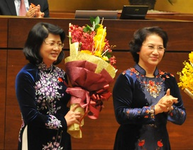 Bà Đặng Thị Ngọc Thịnh đắc cử Phó Chủ tịch nước