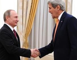 """Ngoại trưởng Mỹ Kerry đến Nga: Xua tan """"băng giá"""" về Syria?"""