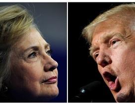 """Clinton và Trump """"khẩu chiến"""" gay gắt đến phút chót"""