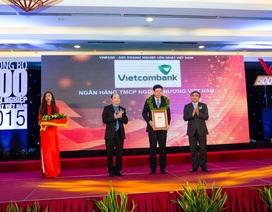 Vietcombank tiếp tục được vinh danh trong Top 50 Doanh nghiệp lớn nhất Việt Nam
