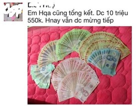 """Khoe 20 triệu lì xì, mẹ Việt được trầm trồ:""""Lãi thế"""""""