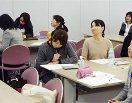 Các bà nội trợ Nhật đang quay trở lại công sở