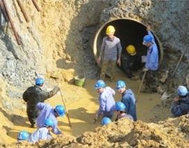 TQ thắng thầu đường ống nước Sông Đà 2 và nỗi lo của dân