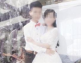 16 tuổi, cô dâu chú rể 'mặt búng sữa' linh đình làm đám cưới