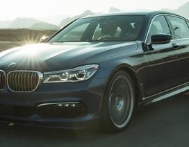 Cận cảnh tuyệt phẩm BMW Alpina B7