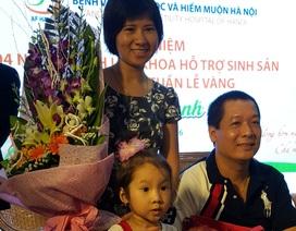 20 năm, 9 lần thụ tinh ống nghiệm và nước mắt làm mẹ