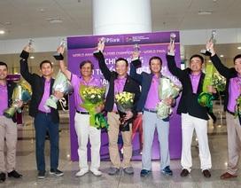 Lễ đón đội tuyển golf TPBank WAGC chiến thắng trở về