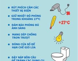 (Infographics)- Phương pháp tắm trẻ sơ sinh mẹ bỉm sữa cần biết