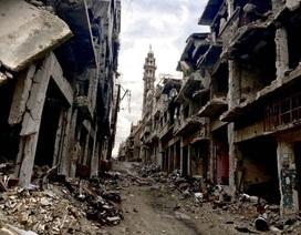 Thành phố sầm uất của Syria bị phá nát do nội chiến