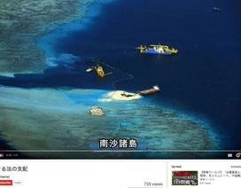 Nhật Bản công bố video về các hành động phi pháp của Trung Quốc ở Biển Đông