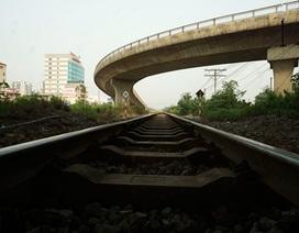 Cầu dẫn hoành tráng tại nút giao cầu Vĩnh Tuy - Quốc lộ 5