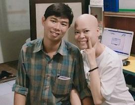 Xúc động chuyện tình 7 năm của cô gái ung thư máu