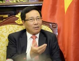Phó Thủ tướng: Xung đột dẫn đến chiến tranh là đi ngược lại xu thế của thời đại
