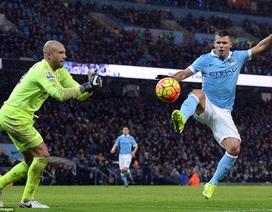 Man City hòa nhạt nhòa trước Everton