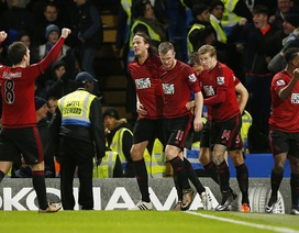 Chelsea bị West Brom cầm chân ngay tại Stamford Bridge