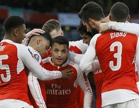 ĐKVĐ Arsenal nhọc nhằn trước đội bóng chiếu dưới