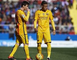 Barcelona phủ nhận việc Neymar sẽ gia nhập Man City