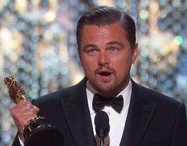 Sau nhiều năm chờ đợi, Leonardo DiCaprio lần đầu giành giải Oscar