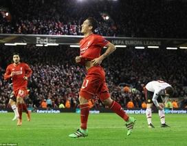 Dễ dàng thắng MU, Liverpool đặt một chân vào tứ kết