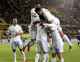 Real Madrid giành 3 điểm nghẹt thở tại Gran Canaria