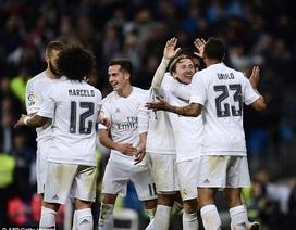 Thắng đậm Villarreal, Real Madrid áp sát Barcelona