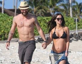 Megan Fox khoe bụng bầu, hàn gắn sau sóng gió hôn nhân