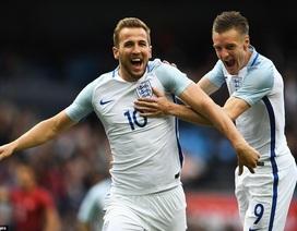 Kane, Vardy đưa tuyển Anh vượt qua Thổ Nhĩ Kỳ