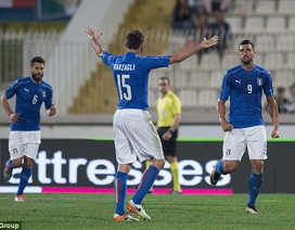 Italia nhọc nhằn đánh bại đối thủ khó chơi Scotland