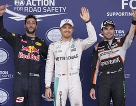 Rosberg đi vào lịch sử đường đua Baku
