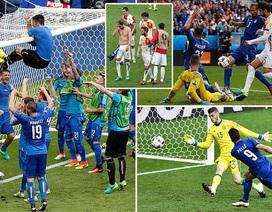 Những khoảnh khắc Italia quật ngã Tây Ban Nha tại vòng 1/8 Euro 2016