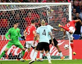 Wales 3-1 Bỉ: Cú lội ngược dòng ngoạn mục