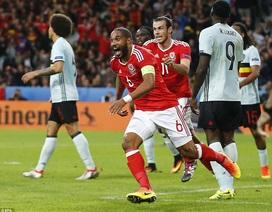 Những khoảnh khắc Wales đại thắng Bỉ để tiến vào bán kết Euro 2016