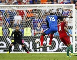 Những khoảnh khắc kinh điển ở trận chung kết Euro 2016