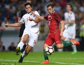 """Vắng C.Ronaldo, Bồ Đào Nha vẫn dễ dàng thắng """"5 sao"""""""