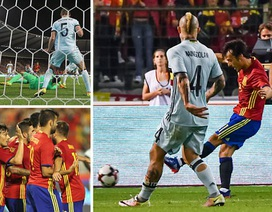 David Silva lập cú đúp, Tây Ban Nha hạ gục Bỉ